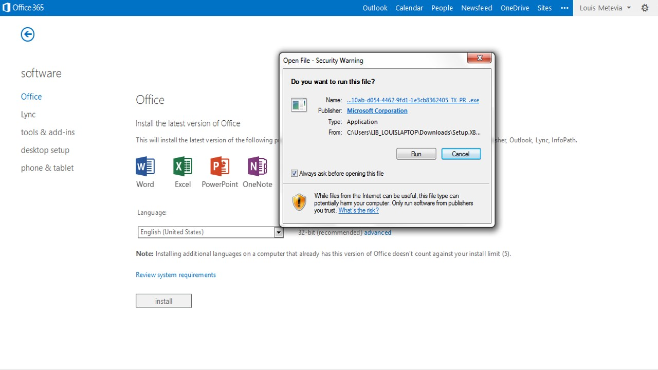Install MS Office 365 | Southern University and A&M College