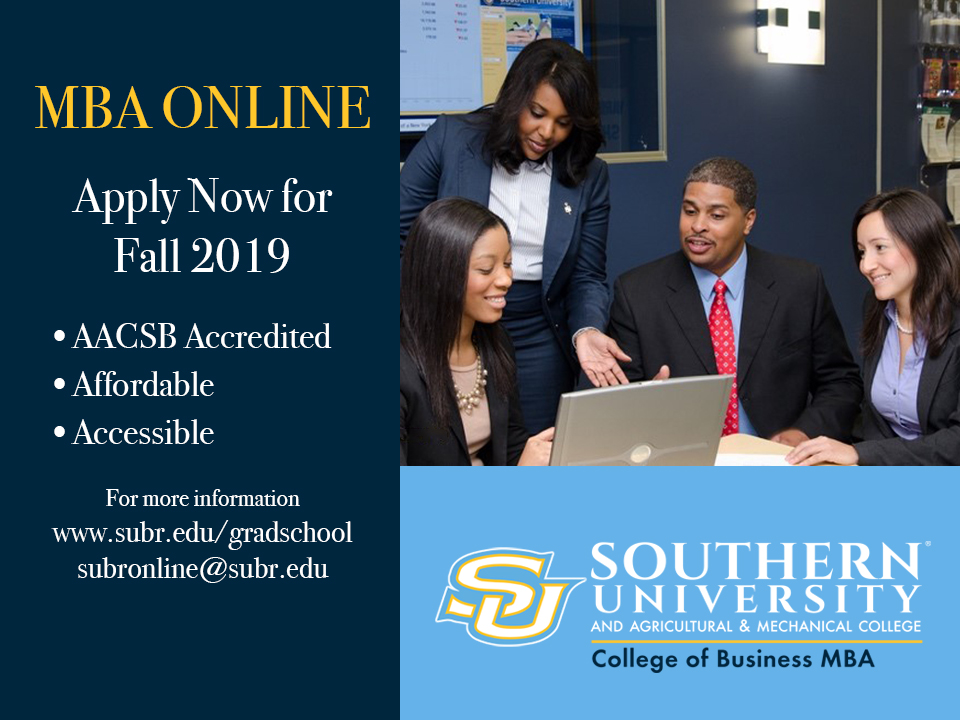 Apply for Fall 2019 MBA Online Postcard