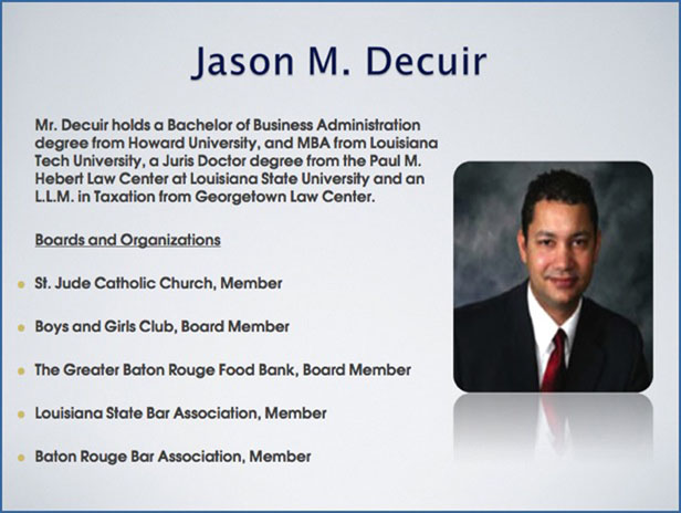 Jason Decuir Southern University And A Amp M College