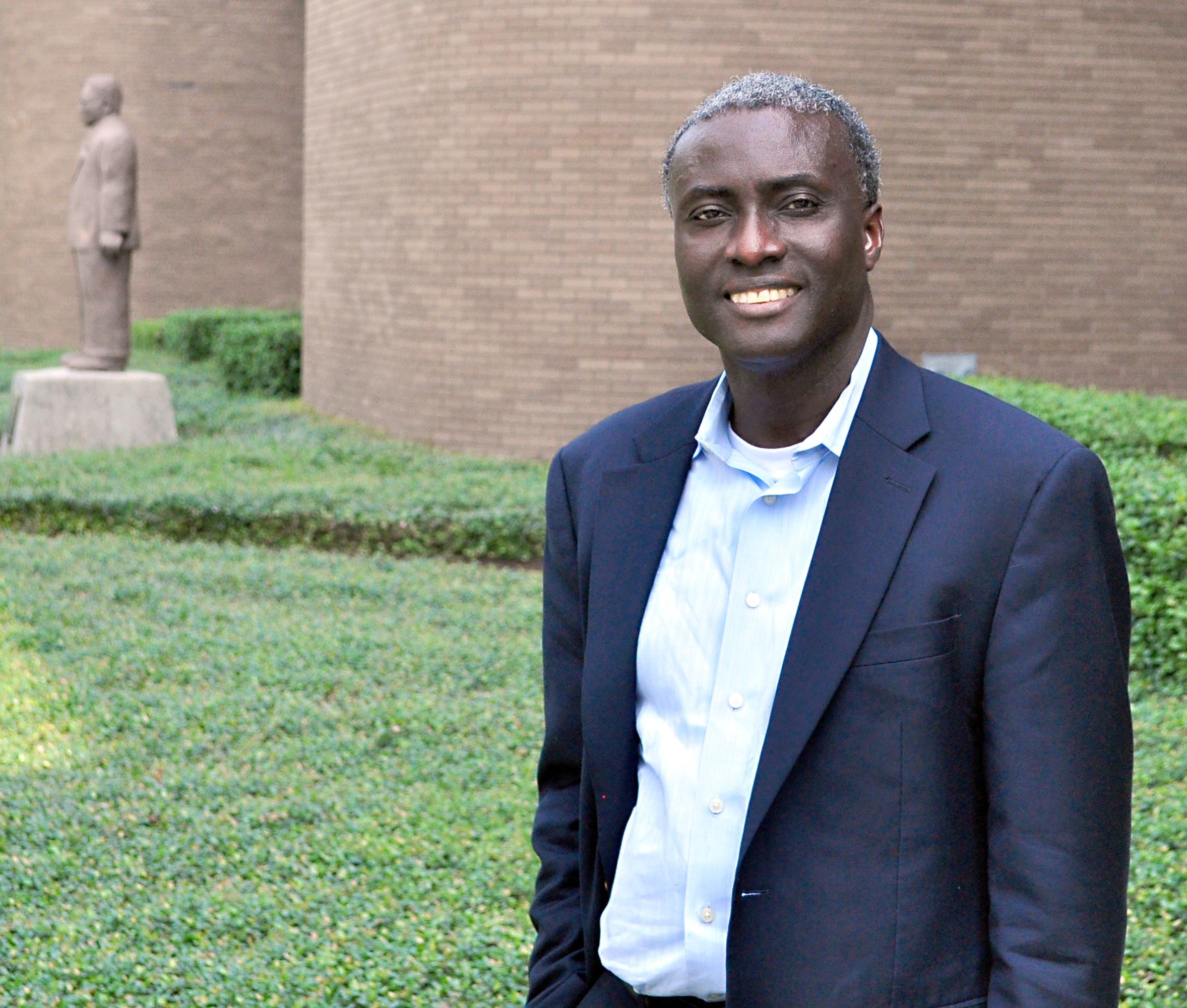 Dr. Patrick Mensah. Photo by John Oubre, photographer for Office of Media Relations