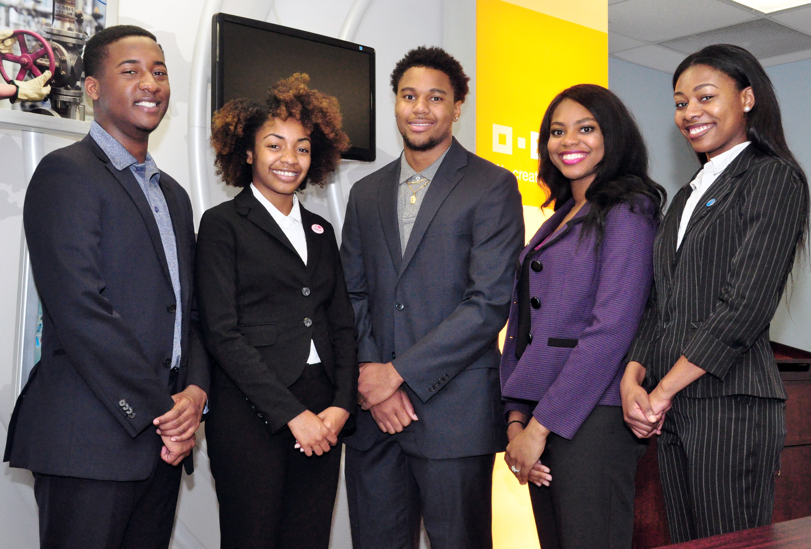 SU Baton Rouge students participating in the 2016 Belize Study Abroad program May 15 - June 5 are pictured (left-right): Zachary Williams, Ja'Nae McGee, Jeremiah West, Alana Stevenson, and Raven Buntyn.