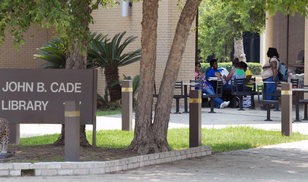 John B. Cade Library logo