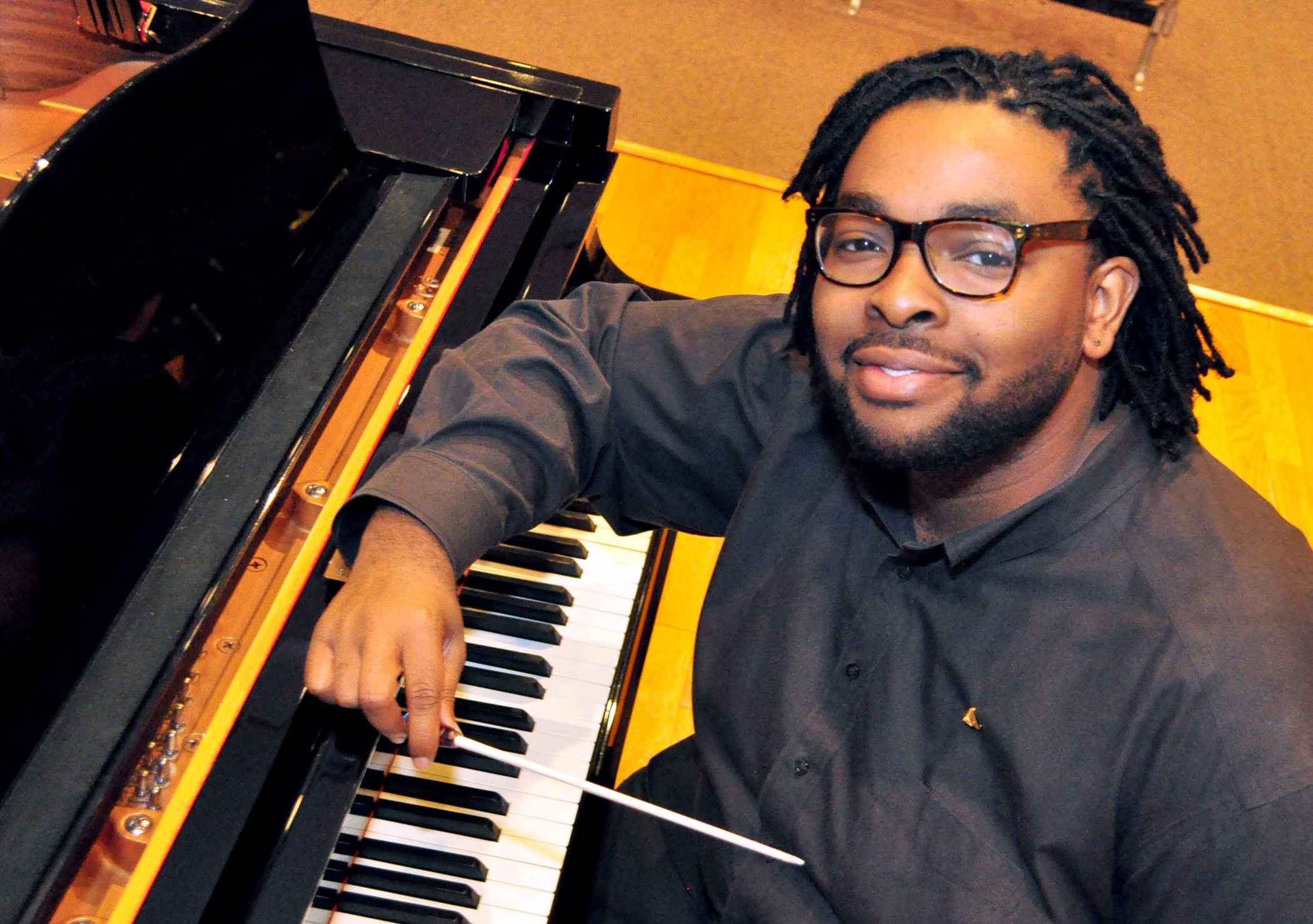 SUBR music student Jerrell R. Gray