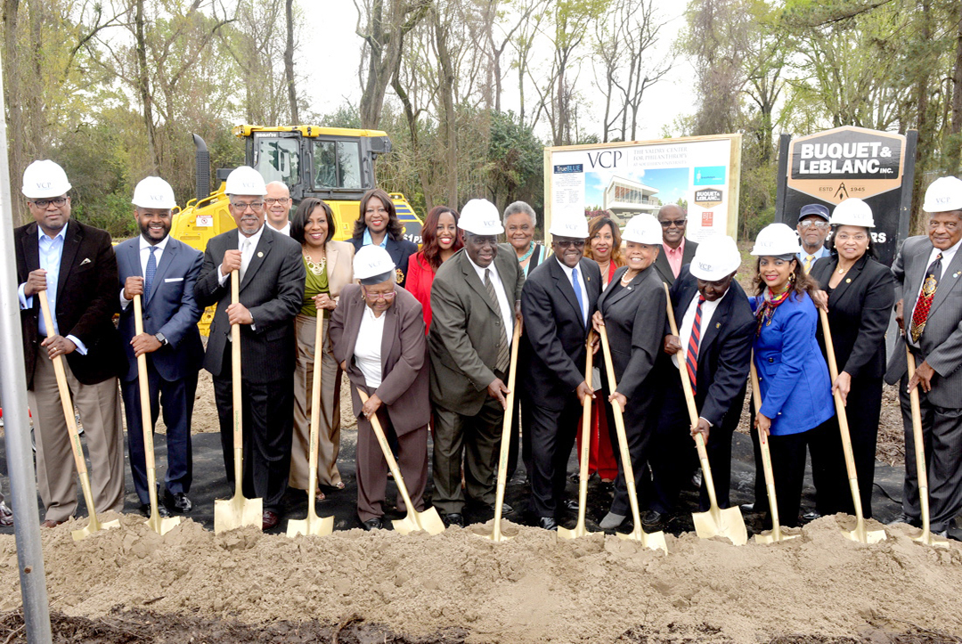 Valdry Center for Philanthopy groundbreaking ceremony